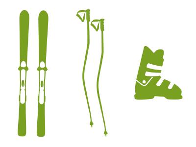 SKI - SET Carving Sport